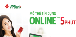 Hướng dẫn mở thẻ tín dụng VPBank Online nhiều ưu đãi