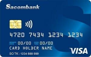 Sacombank Visa Credit Classic
