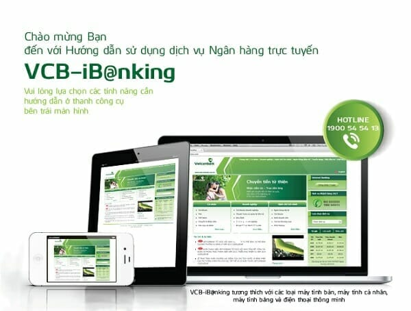 Viettcombank ibanking