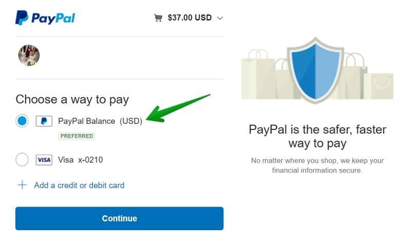 Cách Thanh toán bằng Paypal