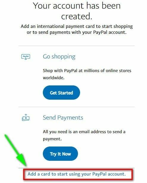 Hướng dẫn liên kết thẻ Visa với Paypal