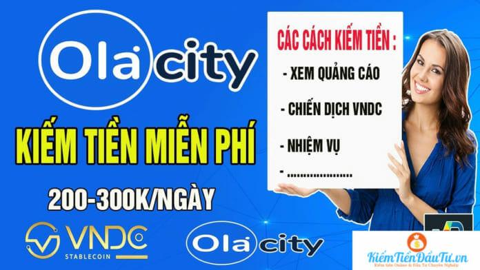 Kiếm tiền với Ola City