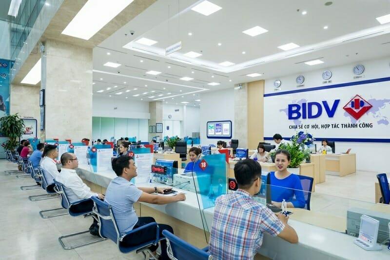 Mở thẻ tín dụng BIDV tại quầy giao dịch