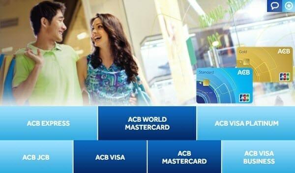 Lợi ích của thẻ tín dụng ACB