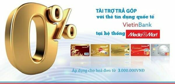 Lợi ích của thẻ tín dụng Viettinbank