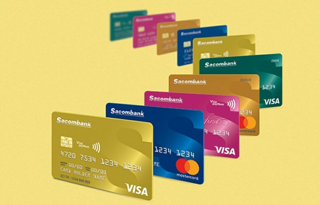 Mở thẻ tín dụng Sacombank