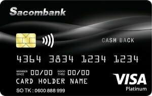 sacombank Visa Platinum Cashback