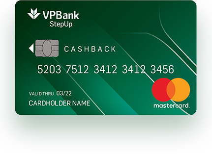 Thẻ tín dụng VPBank Step Up