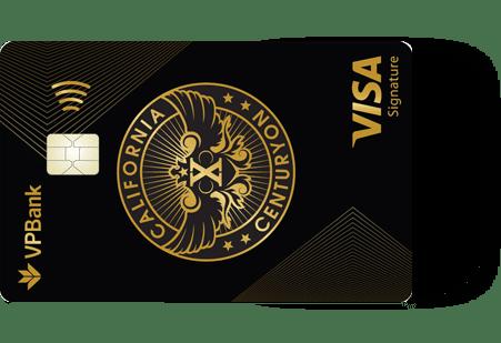 Thẻ tín dụng VPBank California Centuryon Signature