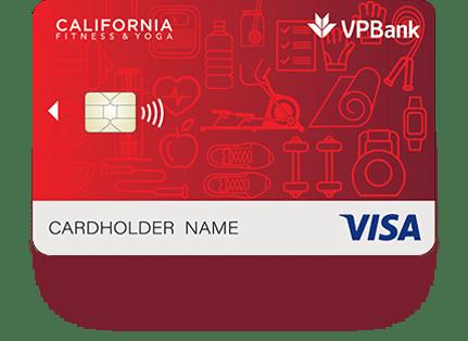 Thẻ tín dụng VPBank California Fitness Platinum