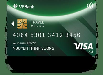 Thẻ tín dụng Gold Travel Miles