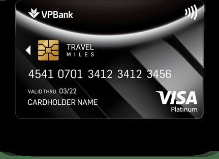Thẻ tín dụng Platinum Travel Miles