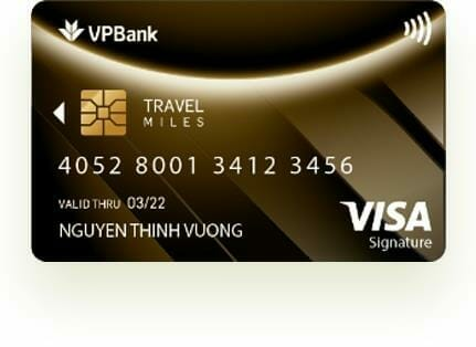 Thẻ tín dụng Signature Travel Miles