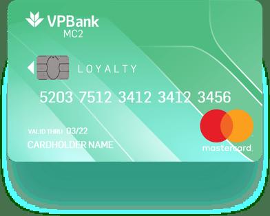 Thẻ tín dụng VPBank MC2