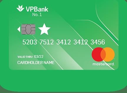 Thẻ tín dụng Rút Tiền VPBank No.1