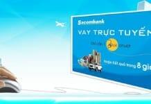 Vay tín chấp Sacombank