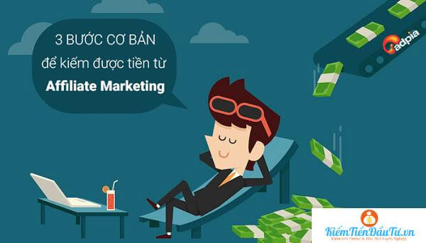 Các bước kiếm tiền với Affiliate Marketing
