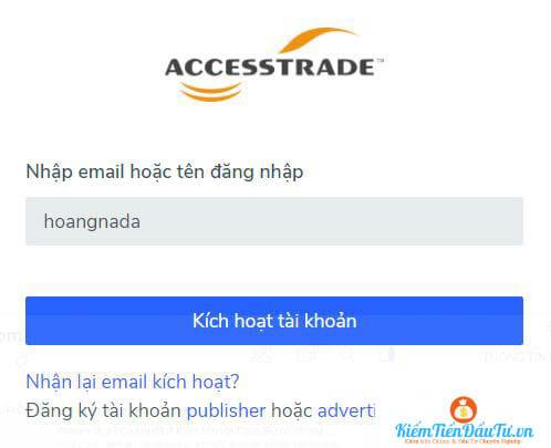 Xác nhận email đăng ký tài khoản