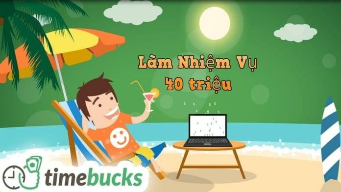 Hướng dẫn làm nhiệm vụ kiếm tiền online với Timebucks