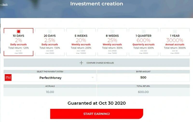 Thông tin gói đầu tư Picus
