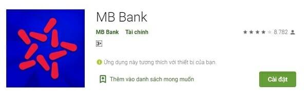 Hướng dẫn cài đặt APP Mb bank