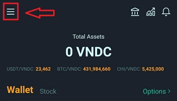 Cài đặt VNDC Wallet Pro