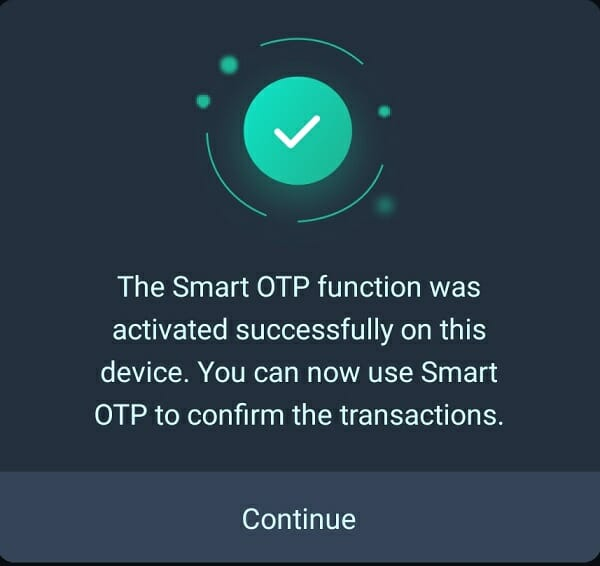 Kích hoạt Smart OTP VNDC Wallet