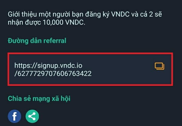 Link kiếm tiền VNDC