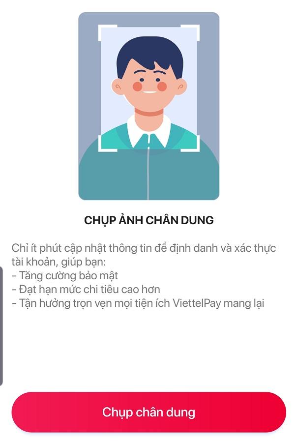 Hướng dẫn xác thực thông tin ViettelPay